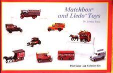 Buch - Matchbox Autos und Spielzeug - Lledo Spielzeug (US-Ausgabe) Sammlerpreise