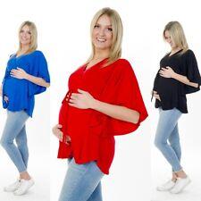 Umstandsmode Tunika Shirt Stilltop Stillshirt Umstandsshirt Fledermausärmel