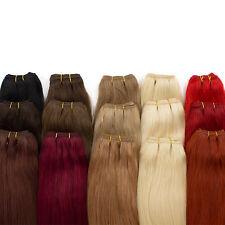 Echthaartresse 100% indisches Remy Echthaar Haarverlängerung 80cm
