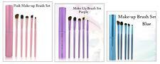 Sombra de ojos cepillo Set 5 Pony Cabello Cosmetic brochas Maquillaje 5