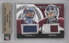 2008-09 In the Game Between Pipes #HSHS-18 Patrick Roy Peter Budaj Hockey Card