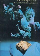 TON SCHERPENZEEL le carnaval des animaux HOLLAND 1978