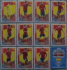 Match Attax TCG Choose One 2012 Spain Card from List (Euro 2012 England)