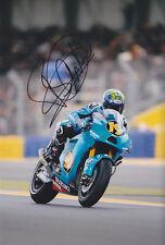 Rizla Suzuki Alvaro Bautista Signed Photo 12x8 2011.
