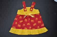 NCAA USC Trojans Baby Infant Toddler Girls  Dress * Handmade * YOU PICK SIZE *