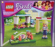 LEGO Friends 41011 Fussballtraining mit Stephanie Tor Hund Tribühne NEU