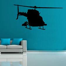 Milirtary Chopper Decal Vinyl Wall Sticker