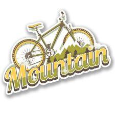 2 X Equipaje De Bicicleta De Montaña Pegatina de vinilo Laptop Equipaje de Viaje #4135