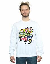 DC Comics Men's Teen Titans Go Pizza Slice Sweatshirt
