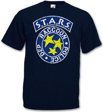 VINTAGE S.T.A.R.S. LOGO T-SHIRT - Resident Raccoon City Police Dep Evil T-Shirt