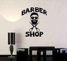 Vinyl Decal Men's Hairdresser Hair Salon Barbershop Wall Stickers (ig3613)