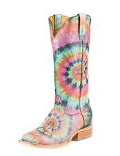 Tin Haul Western Boots Womens Tie Dye Pink 14-021-0007-1275 MU