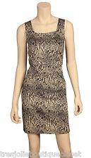 MICHAEL KORS WOMEN'S SEAMED SNAKE-PRINT DRESS
