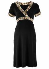 Estupendo Moda Casual Vestido Camisa con óptimo Cómodo en Negro