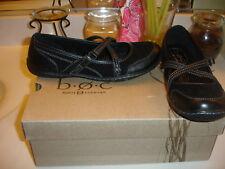 B.O.C. Kana Black Leather Comfort Shoe $79 nice!