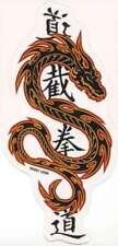 ASIAN BLACK CHINESE FLAMING TRIBAL RAZOR DRAGON VINYL R/C Sticker/Bike Decal