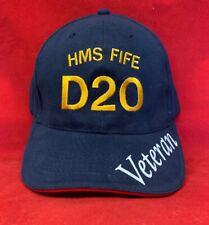 HMS Fife D20 Veteran Royal Navy Baseball Hat Cap