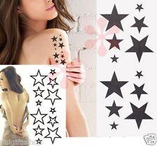 Sexy Stars Temporary Tattoo - Variety stars, Sexy Shoulder, Arm Tattoos