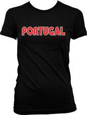 Portugal Block Letters- Portuguese Pride FPF Juniors T-shirt