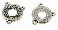 3 Paquete de 3 Agujero Collar hallazgos conector (59004-194)