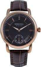 Marschall Original Herren-Funkarmbanduhr Doble Rose Negro Armbanduhr Funkuhr
