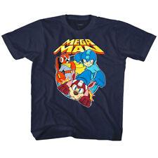 MegaMan Rockman & Rush Kids T Shirt Gaming Boys Girls Top Baby Youth Toddler