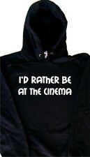 I'd Piuttosto Essere al cinema Felpa