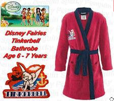 Authentique Disney Fairies Tinkerbell Peignoir âge filles 6-7 ans
