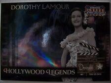 2008 DONRUSS AMERICANA HOLLYWOOD LEGEND DOROTHY LAMOUR 374 /500 !!! BOX 7