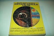 ELLERY QUEEN PRESENTA SIMENON & c. su ESTATE GIALLA 1979-15 RACCONTI MONDADORI