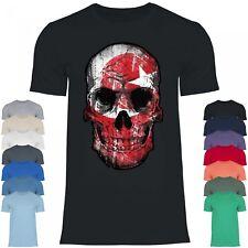 Royal Shirt df22 Herren T-Shirt Türkei Turkiye Flagge | WM EM Fußball Totenkopf