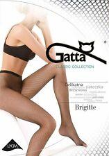 """Gatta Netzstrumpfhose """"Brigitte 01"""" in schwarz oder beige"""