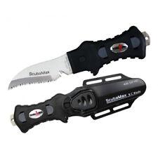 Scuba Max KN-200 420SS Rounded Tip Scuba Knife