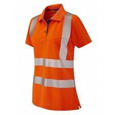 Leo Workwear pippacot CLASSE 2 Arancione coolviz Donna Polo