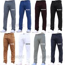Homme designer pantalon chino stretch coupe slim jeans pantalon tous tour de taille & tailles