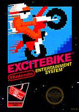 EXCITE~BIKE~NES~GAME~NINTENDO~ENTERTAINMENT~SYSTEM~CARTRIDGE~TESTED~EXCITEBIKE