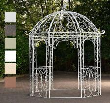 Romantischer Eisenpavillon LEILA Gazebo Rosenspalier Eckig Pavillion Pergola NEU