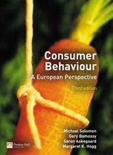 Consumer Behaviour: A European Perspective by Hogg, Margaret K. Paperback Book