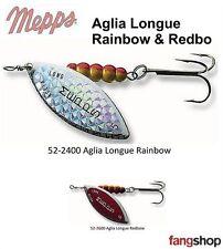 Mepps Aglia Longue Rainbo Redbo Spinner Hecht Barsch Spinnfischen