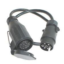 Anhängeradapter Kabel Adapter Anhänger 7pol 13p PKW Kfz Adapterkabel 7/13 polig