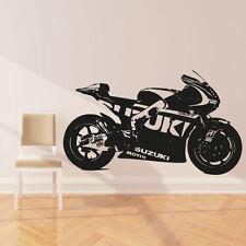 Moto GP Suzuki motorbike vinyl wall art sticker decal motorbike sports mb3