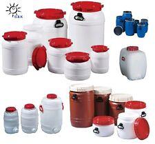 Auswahl: Weithalsfass / Wasserkanister z.B. 6,4L 15,4L 20L 26L 55L 64L 68L 75L