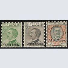 Colonie - 1925 Eritrea n. 93/95 serie cpl. Nuovi *