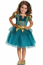 Brand New Disney Princess Merida Brave Classic Toddler Costume