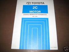 Werkstatthandbuch Toyota Corolla Motor Stand 05/1995
