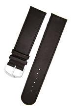 Armband Uhren 22mm Dornschließe silber oder gold LEDER Ton in Ton Uhrenarmband