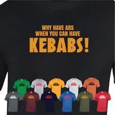 Why can have KEBABS Mens TSHIRT RUDE Top Funny Gift novelty joke Slogan T-Shirt