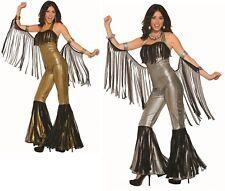 Adult 70s Disco Queen Jumpsuit Costume