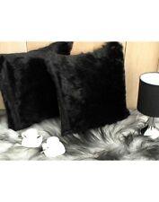 Black Panther Faux Fur Cushion