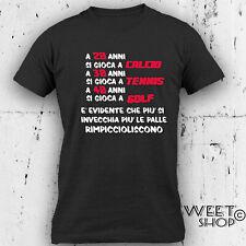 T-shirt 40 anni Uomo Compleanno 1979 Festa GOLF Divertente Idea regalo GOLFISTA